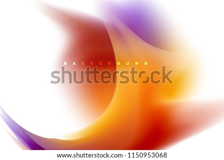 Holographic paint explosion design, fluid colors flow, colorful storm. Liquid mixing colours motion concept, trendy abstract background layout template for business presentation, app wallpaper banner