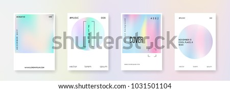 holographic poster set