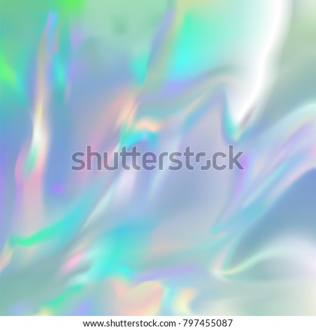 holographic rainbow foil