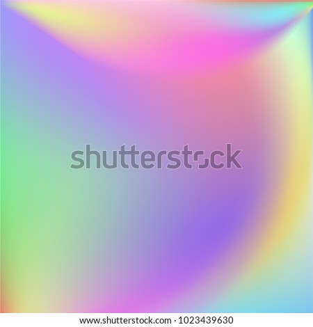 holographic vector background