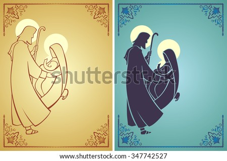 holy family set   two