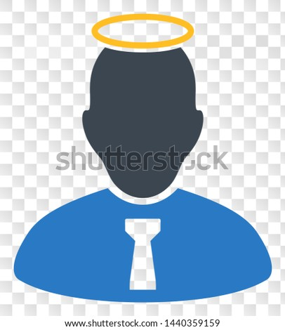 holy person eps vector