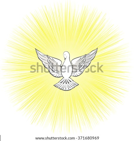 holy spirit symbol dove with