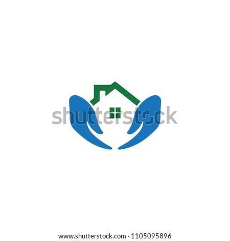 Home care logo icon template
