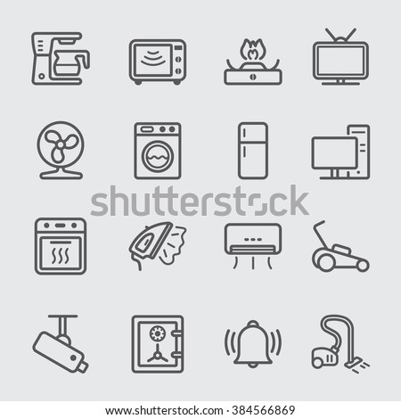 Home Devices line icon