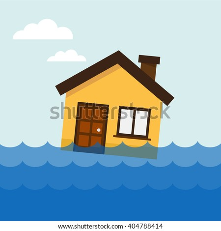 home flooding under water