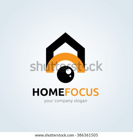 home focus  photography logo