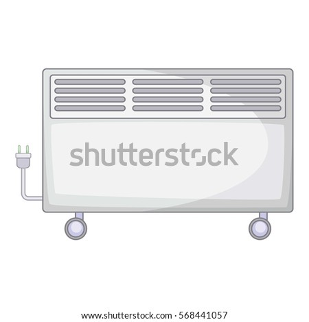 Home heater icon. Cartoon illustration of home heater vector icon for web #568441057