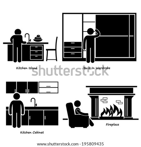 home house built in furniture