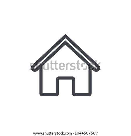 home icon vector EPS10