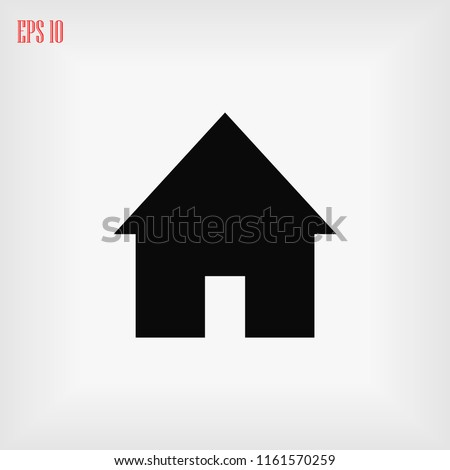 home icon, Vector EPS 10 illustration style