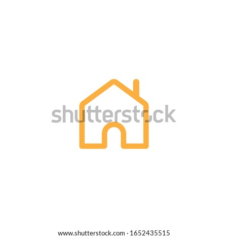 Home Icon Vector File, Minimal, Clean, Professional