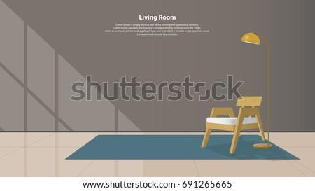 home interior design with