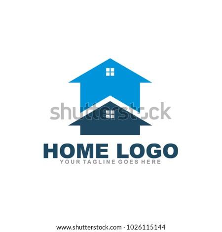 Home logo design vector icon