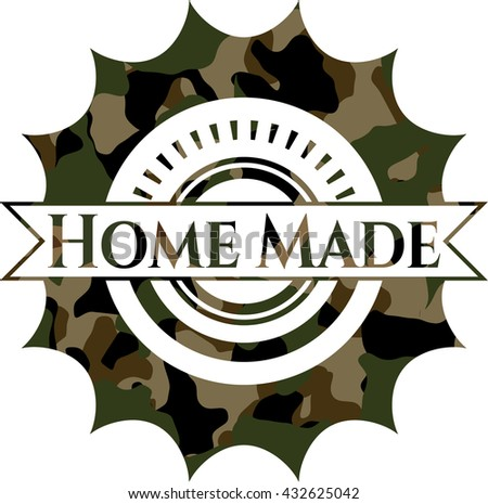 Home Made on camo pattern