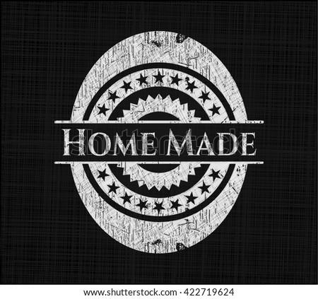 Home Made written on a chalkboard