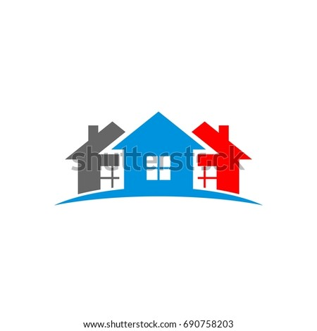 home real estate logo template ez canvas