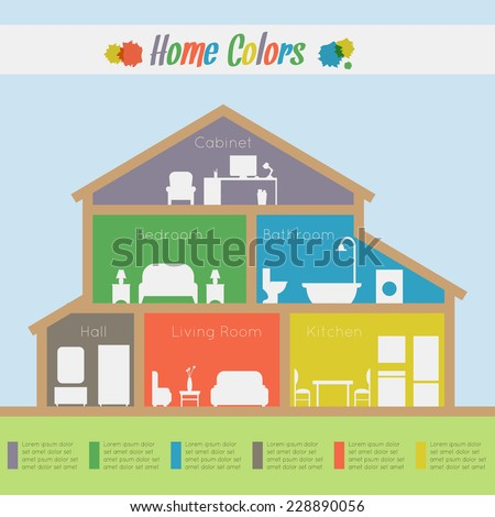 home rooms colors house