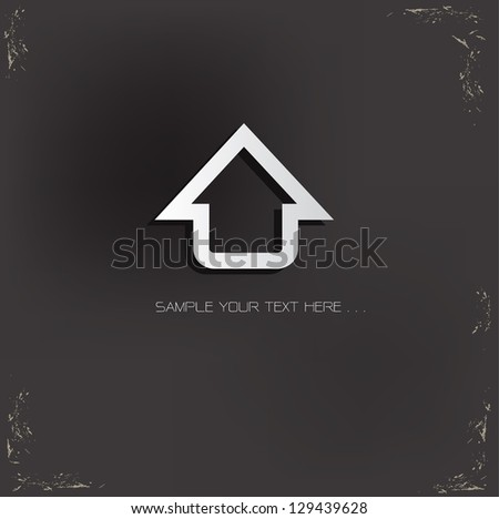 Home Sign,vector