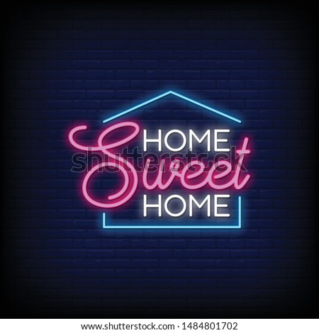 home sweet home for poster in