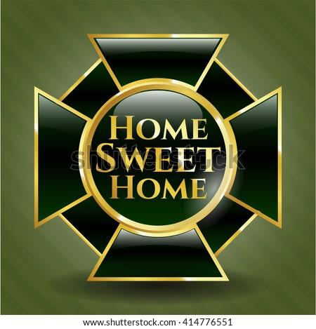 Home Sweet Home gold emblem