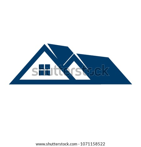 Home symbol. residential icon. Building logo. Vector eps 10.