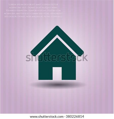 Home vector icon or symbol