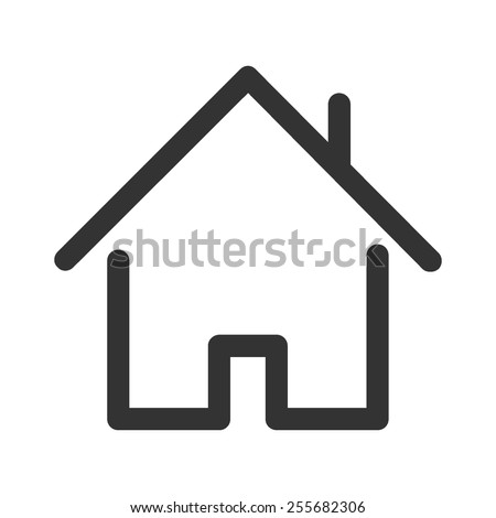 Home vector image to be used in web applications, mobile applications and print media.