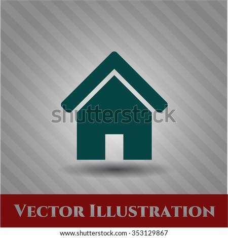 Home vector symbol