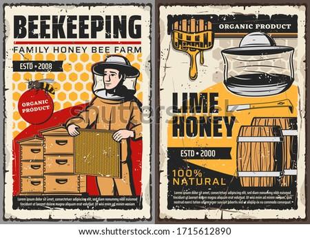 honey and beekeeping farm