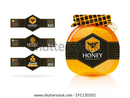 honey banner   sticker design 3