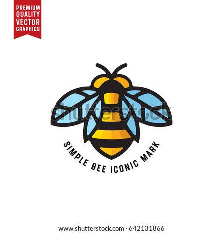 honey bee linear vector