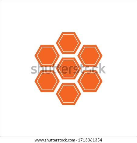 honey icon vector illustration template design logo and symbol Сток-фото ©