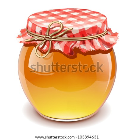 honey isolated