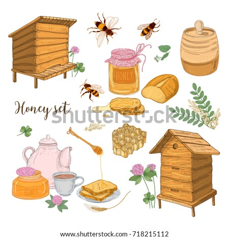 honey production  beekeeping or