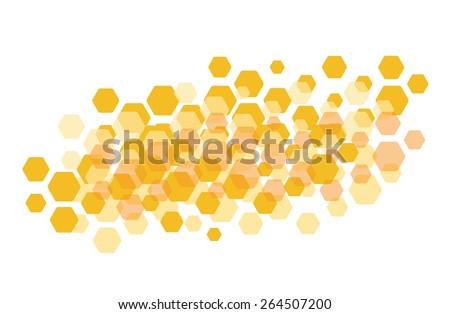 Honeycomb background, wallpaper, pattern
