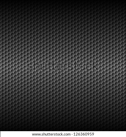 Honeycomb gray textures. Illustration for best creative design