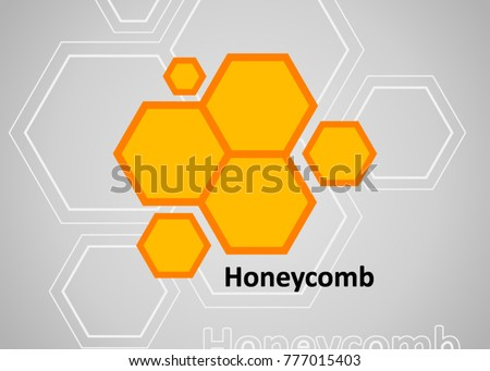 Honeycomb icon. Abstract honeycomb logo vector. Beehive symbol vector. Honey Comb Logo Template Design Vector, Emblem, Design Concept, Creative Symbol, Icon