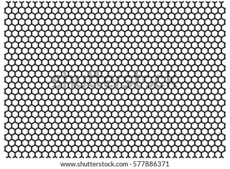 honeycomb octagon line mesh