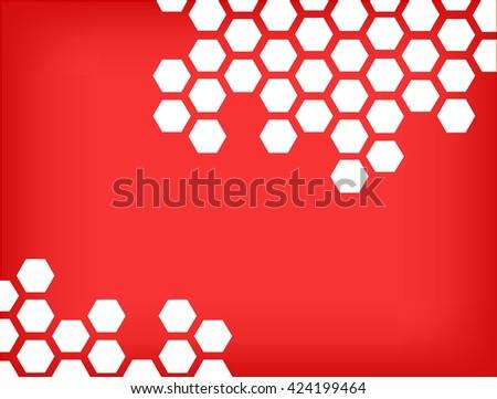 Honeycomb pattern background