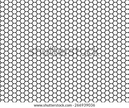 honeycomb seamless pattern, vector illustration