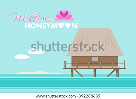 honeymoon on the maldives
