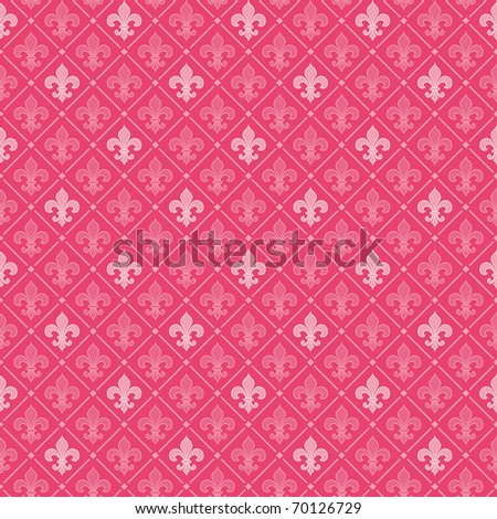 Honeysuckle seamless background (fashion color for 2011)