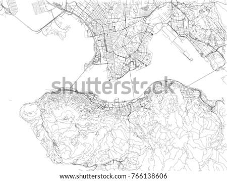 hong kong roads  city map