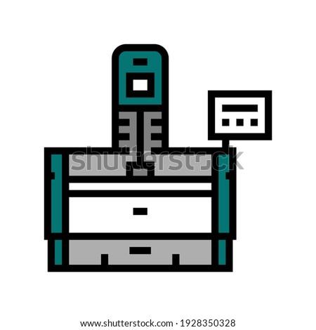 honing machine color icon vector. honing machine sign. isolated symbol illustration Stockfoto ©