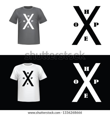 hope design tshirt