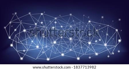 horizontal abstract technology