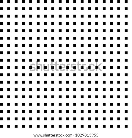 Horizontal and vertical black squares  aligned with white:black (space) ratio equal with 21:13  Fibonacci ratio (the golden ratio). Modern monochrome background. Vector illustration.