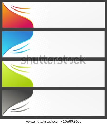 horizontal banner backgrounds