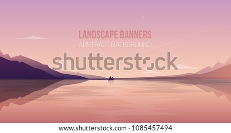 horizontal banner with gorgeous